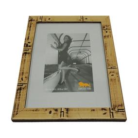 Porta Retrato Moldura Aspecto Amadeirado 10x15 13x18 15x21