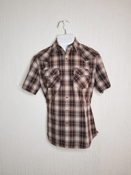 Camisa A Cuadros Vaquera Calvin Klein Talla M