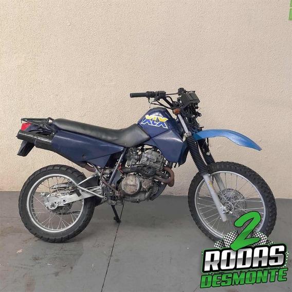 Sucata Honda Xlx 350 R 1991 Para Retirada E Venda De Peças