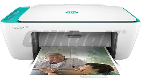 Impressora Multifuncional Hp 2676 Wifi Copiadora E Scanner