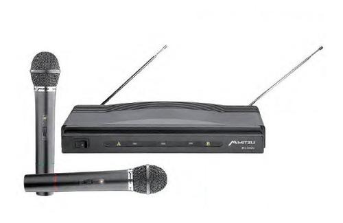 Imagen 1 de 2 de Par Microfonos Inalambrico Dimamicos Hasta 50m Karaoke 3002