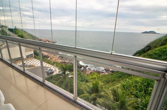 Aceita Permuta - Praia Das Astúrias - Guarujá - Frente Ao Mar - Reformado - 3 Dormitórios - Lazer - Ap4023