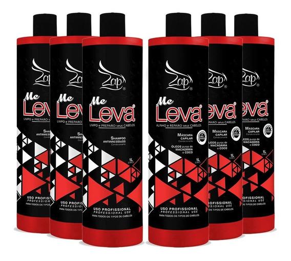 Zap Profissional 03 Kit Me Leva - Nova All Time 6x1000ml