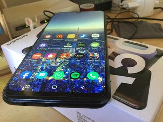 Samsung Galaxy A50 Preto, Com Tela Infinita De 6.4?, 128 Gb