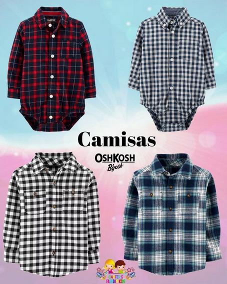 Camisas Y Bodycamisas Para Bebe Niño Carters Y Oshkosh