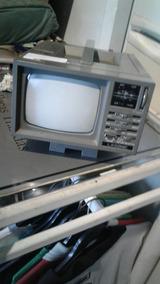 Mini Tv Portátil Década De 90 Para Decoração Zn Horto