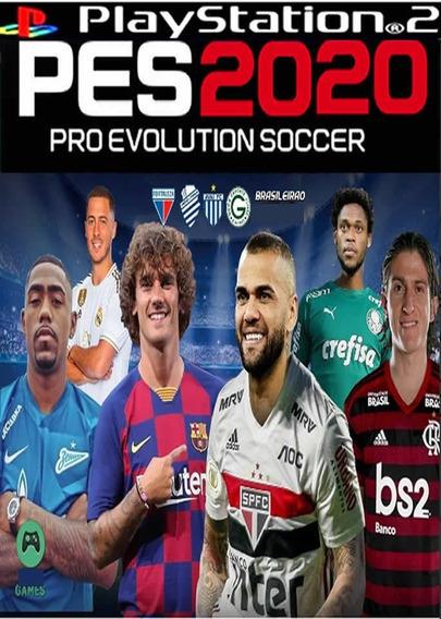 Pes 2019 Brasileirão ,jogos Ps2,atual Lançamento Agosto