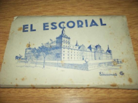 El Escorial Serie G- - Postal 15 Postar Blok N.2 Zaragoza Bl