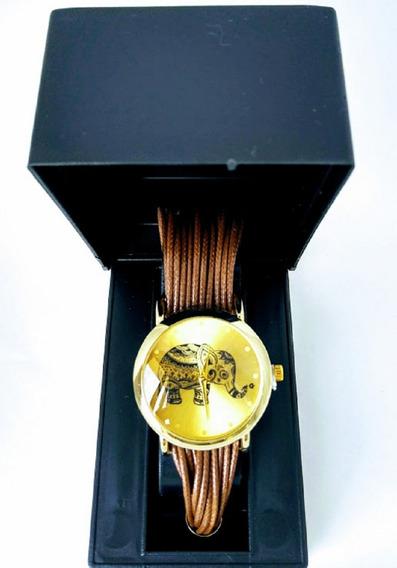 Relógios Feminino De Pulso Kit C/2 Luxo Redondo Pulseira Couro Silicone Social Lindos Moda Barato Promoção +caixas