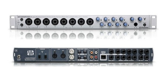 Interface Placa De Som Presonus Firestudio 26x26