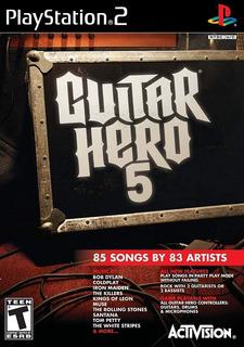 Guitar Hero 5 Stand Alone - Playstation 2 (sólo Juego)