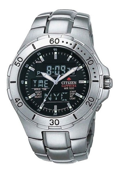 Relógio Citizen Promaster Jq8111-59e Safira Original