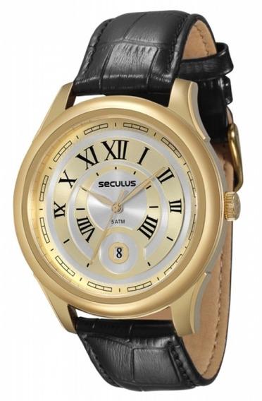 Relógio Masculino Analógico Seculus 23429gpsvdc2