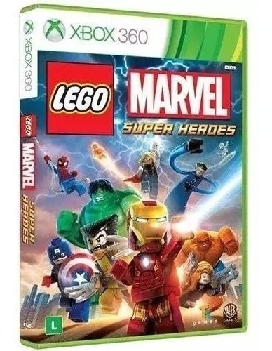 Jogo Lego Marvel Super Heroes X360 Fisica Original Lacrado