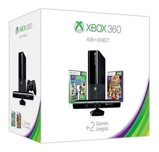 Xbox 360e 4gb Buen Estado