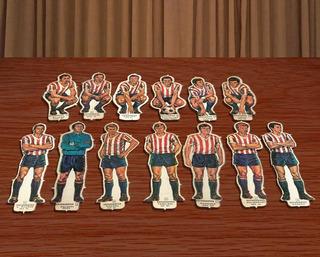 Reproduccion Figuritas Idolos Del 69 Estudiantes