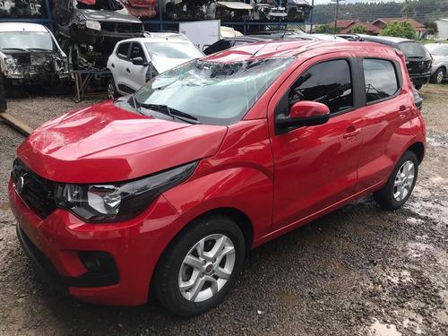 Sucata Fiat Mobi 2018 1.0 Completo Rs Auto Peças Farroupilha