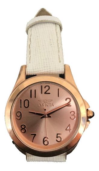 Relógio Invicta Angel 21374 Feminino Rosé Orig. Frete Grátis