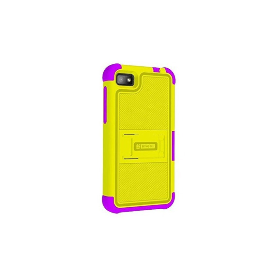 Bb Z10 Tri Shield Yellow / Purple - Envase Por Menor - Amari