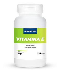 Vitamina E Newnutrition 120 Cápsulas Pronta Entrega!