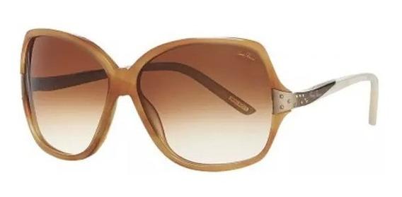 Óculos De Sol Nina Ricci 3227 04 Acetato Marrom Feminino