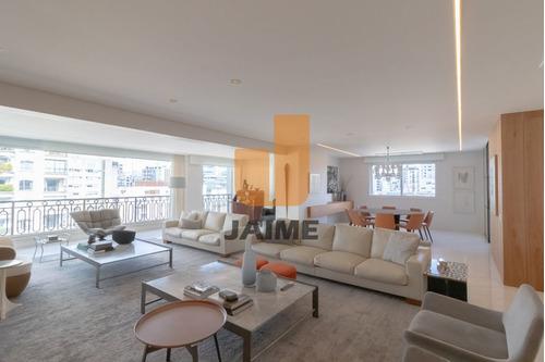 Belíssimo Apartamento Com Vista Privilegiada Em Higienópolis. - Bi4311