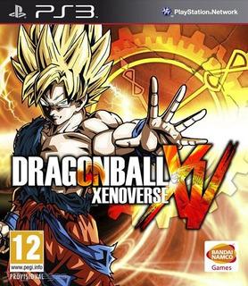 Dragon Ball Xenoverse Ps3 Entrega Inmediata Original
