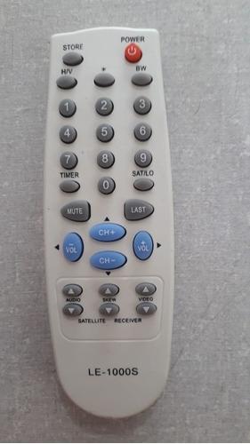 Controle Tv Parabolica - Novo - Le1000s - Visiontec