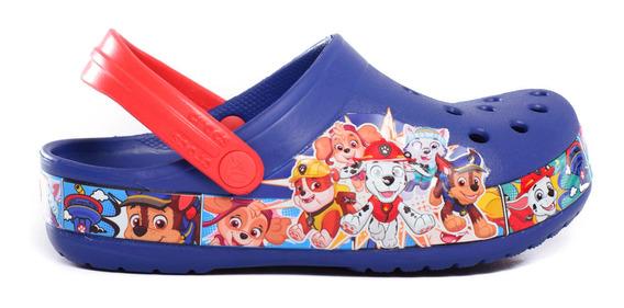 Zuecos Crocs Crocsfl Paw Patrol Band Clog Kids -c205509-c4gx