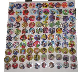 100 Tazos Dragon Ball Super Coleccion (sin Xferas)