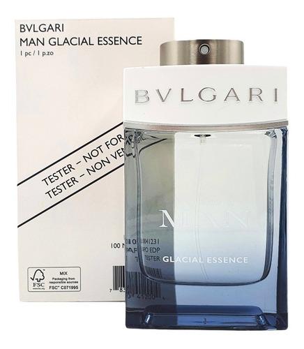 Imagen 1 de 1 de Bvlgari Man Glacial Essence Edp 100ml (tester) / Prestige
