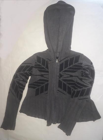Saco De Mujer Talle M, Saquito Sweter O Sueter Con Capucha