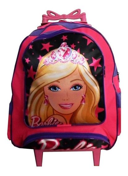 Kit Mochila Infantil Barbie Feminina Meninas Escolar Estojo