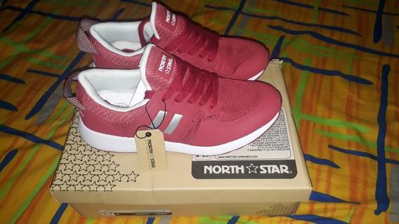 Zapato Original Tenis North Star Color Rojo Talla 39
