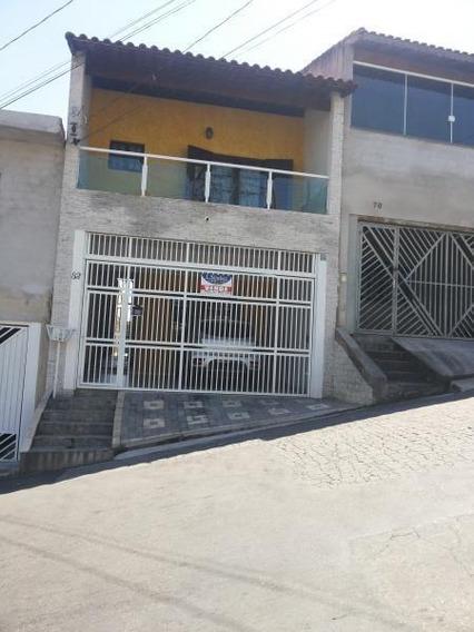 Casa / Sobrado Para Venda Em Itaquaquecetuba, Vila Virgínia, 3 Dormitórios, 1 Suíte, 3 Banheiros, 2 Vagas - 171104