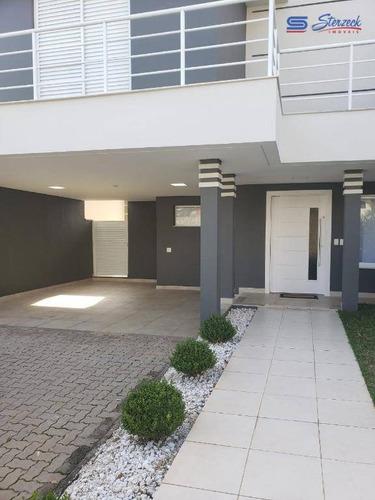 Casa Com 3 Dormitórios À Venda, 225 M² Por R$ 1.200.000 - Condomínio Reserva Da Mata - Vinhedo/sp - Ca1272