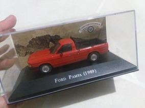 Ford Pampa 1989 Escala 1/43 Coleção Carros Inesquecíveis Bra