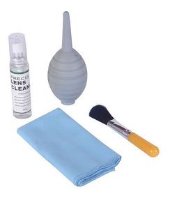 Kit De Limpeza Para Câmeras E Lentes Com Spray Wf-2033