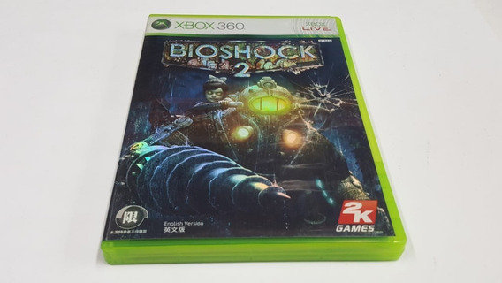 Bioshock 2 - Xbox 360 - Original Mídia Fisica