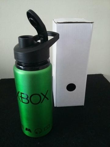 2 Squeeze Xbox De Aluminio 600 Ml Original Barato