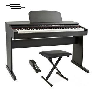 Piano Digital Electrico Ringway 88 Teclas Pesadas + Banqueta