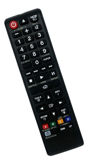 Controle Remoto Home Theater Samsung Ah59-02533a/ah59-02413a
