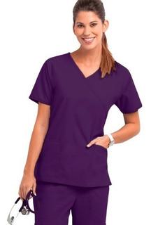Conjunto Uniforme Médico Quirúrgico Dama Violeta Oscuro