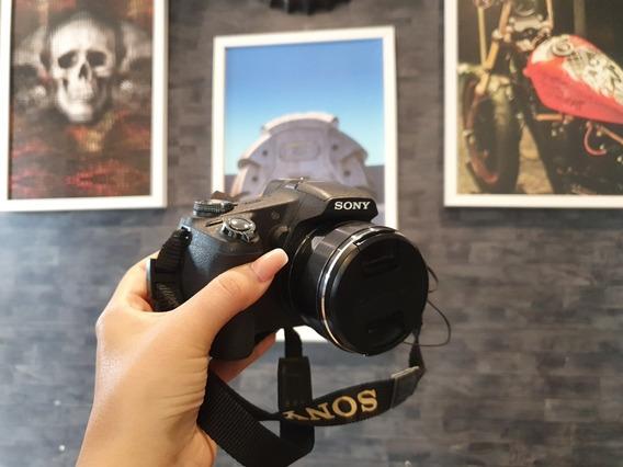 Câmera Sony Cyber-shot Full Hd Em Perfeito Estado.