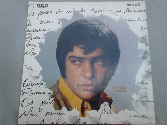 Lp Disco Vinil Antonio Marcos 1970