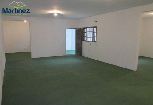 Casa Comercial Para Alugar, 150 M² Por R$ 2.500/mês - Vila Camilópolis - Santo André/sp - Ca0138
