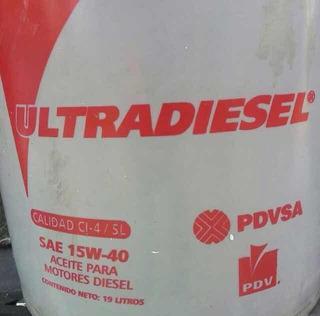 Aceite Ultradiesel 15w40