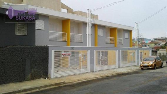 Sobrado À Venda, 56 M² Por R$ 298.000,00 - Jardim Das Maravilhas - Santo André/sp - So0172