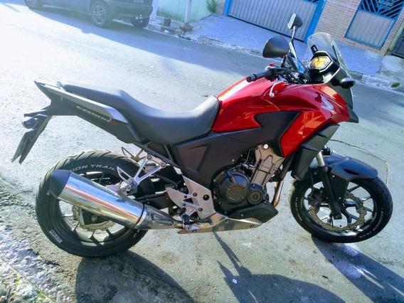 Honda Cb-500x Vermelha Top