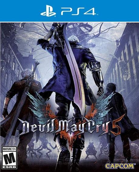 Devil May Cry 5 Ps4 Midia Fisica Ptbr